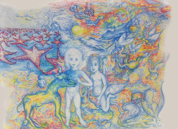 Zeichnung: Das Arkanische Zeitalter