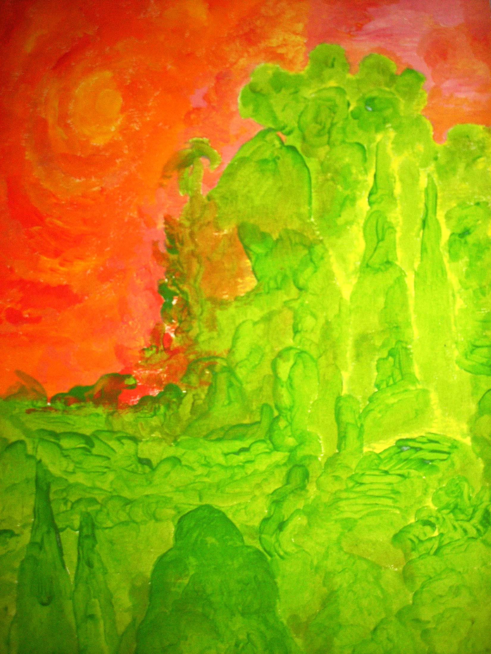 Wald, 2008, Akryl